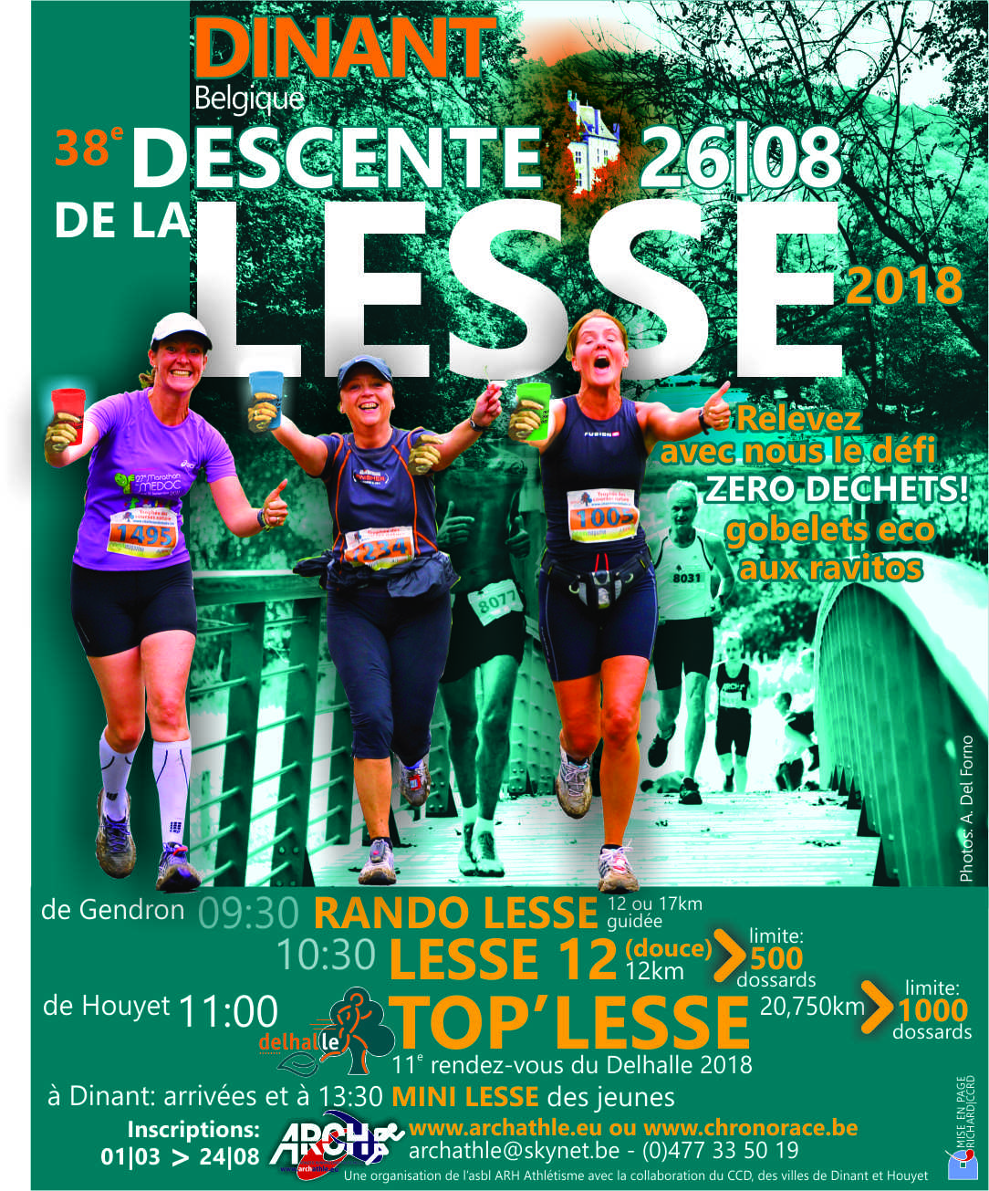 La Lesse ... La plus belle des Descentes (Jogging International)